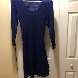 Thakoon by Design long sleeve sweater dress.